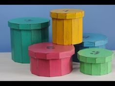 Decapado - Cajas de Fibrofacil - Herrminia Devoto - Claudia Kunze - YouTube