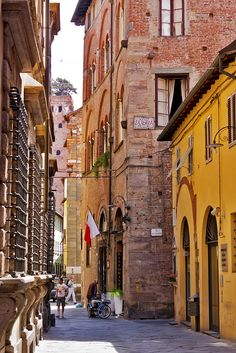 Lucca - citta vecchia di Toscana