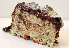 angel cake alla menta e cioccolato, senza glutine e latticini