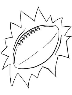 football free coloring page football coloring pages 4