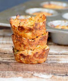 Gluten Free Cheesy BBQ Casserole Bites