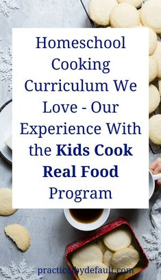 Kids recipe book pinterest kid recipes kid cooking and book binder homeschool cooking curriculum we love our experience with the kids cook real food program forumfinder Gallery