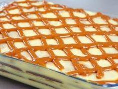 Rychlá nepečená dobrota s luxusním smetanovým krémem Waffles, Breakfast, Food, Morning Coffee, Essen, Waffle, Meals, Yemek, Eten