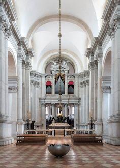 John Pawson; Basilica di San Giorgio Maggiore by Andrea Palladio (Installation); Venice, Italy, 2013.