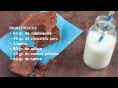 Brownie en estuche de vapor