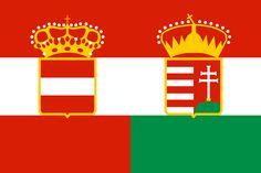 Flag of The Empire of Austria-Hungary Austrian Empire, Hungarian Flag, Austro Hungarian, Kaiser Franz Josef, Blood Libel, Europe Centrale, Flag Art, Gif Animé, Hungary