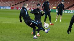 Entrenamiento en el Arsenal Stadium | FC Barcelona