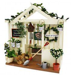 ガーデンハウスキット - Billy ~ビリーの手作りドールハウスキット~