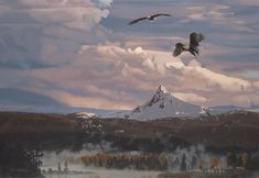 Rod Frederick - Bird´s Eye View -  LIMITED EDITION CANVAS Published by the Greenwich Workshop