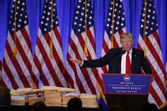 President-elect Donald Trump is holding a press conference Wednesday, his first since July.