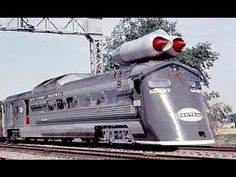 Crazy JET ENGINE POWERED Train M 497 unveiled in 1966 in New York United States - YouTube