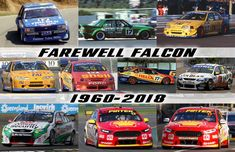 Australian V8 Supercars, Australian Muscle Cars, Motor Car, Motor Sport, Van Car, Old Race Cars, Ford Classic Cars, Power Cars, Ford Falcon