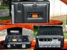VINTAGE REALISTIC MINISETTE II - IC  PERSONAL CASSETTE PLAYER/RECORDER W CASE