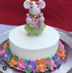 Owl birthday cake topper for a baby girl Baby girl birthday