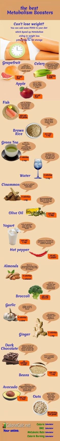 Some food can boost metabolism prevent the fat storage and help you lose or maintain weight.: Diet Metabolism Boosters Weight Loss Increase Metabolism Metabolism Boosting Foods Weightloss Healthy Food Weights Loss Metabolism Infographics by Muna. Best Metabolism Booster, Foods That Increase Metabolism, Metabolism Boosting Foods, Metabolism Supplements, Healthy Tips, Healthy Choices, Healthy Weight, Healthy Foods, Healthy Habits