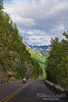 Motana Glacier Park, Going to the Sun Road