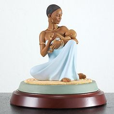 The Blessing Mother & Baby Sculpture by Thomas Blackshear