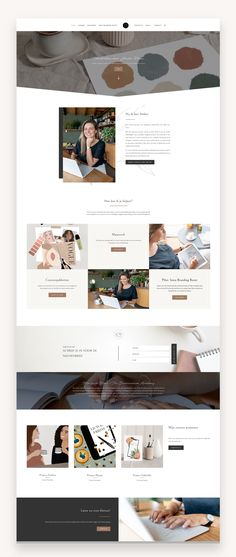 Emily is a feminine business divi child theme perfect for down to earth freelancers looking to easily connect with potential clients. #Divi #BuyDivi #FeminineWordPress #Business #Coaching #Photographers #PremiumTheme