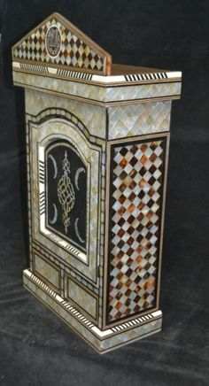 Ottoman MOTHER-OF-PEARL INLAID  medicine cabinet