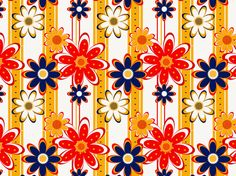"""""""flower wall paper"""" by mobooksnart"""