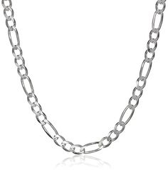 PriceRock Sterling Silver 1.10mm Box Chain Necklace 16 Inches
