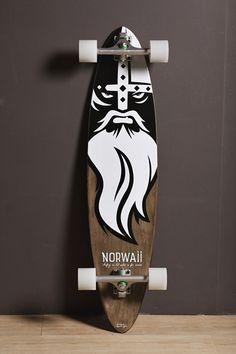 Thousand Mahalos Longboard by Norwaii