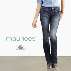 Ellie jeans are my favorite from Maurice's!!(: