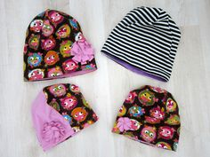 """Mesign - Clothes by me for me: """"Lörppäpipon""""/ruttupipon ompeluohje // Sewing directions for a loose jersey hat Clothes Crafts, Sewing Clothes, Chemo Caps Pattern, Fleece Hats, Diy Hat, Sewing For Beginners, Sewing Patterns Free, Beanie Hats, Stitch"""