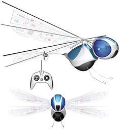 Libélula Rc http://www.regaletes.com/dragonfly-libelula-radio-control-p-410.html $69.90