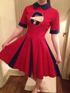 1950 cheerleaders outfits - Google Search