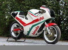 1986 Bimota DB1R - factory race bike - with Ducati Montjuich motor. - www.nydesmo.com