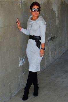 Heather-gray-diy-mimi-g-dress
