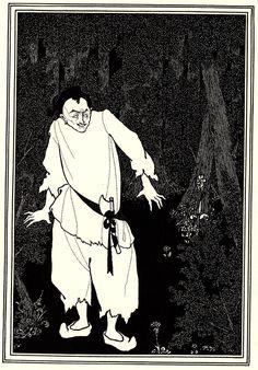 Ali Baba in the Woods - Aubrey Beardsley