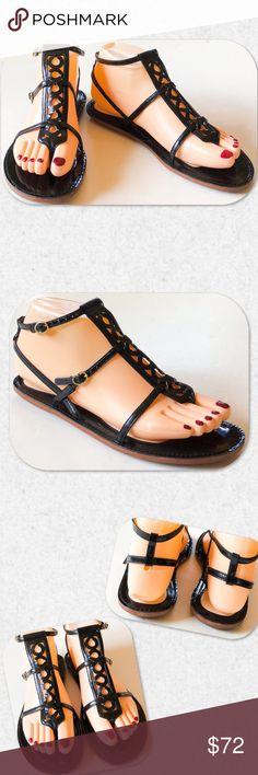 ed8ec38fa35d2 Coach Geralynn Gladiator Sandals Size 6 1 2. NWT.  189 retail. Check