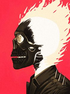 Ghost Rider by Mike Mitchel
