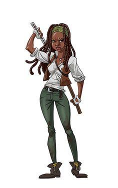 Michone #TheWalkingDead #Art #Series