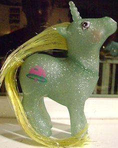 G1 Hasbro My Little Pony Vintage Toy - SPARKLE SERIES - STAR HOPPER - UNICORN
