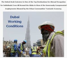 The United Arab Emirates Is One of the Top #Destinations for Abroad Occupation for Individuals From All Around the Globe in View of the Generously Compensated #Employments Showed by the Urban Communities' Fantastic Economy. #idubaivisa #visa