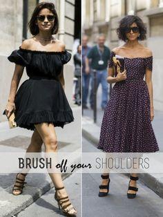 Craving: Off The Shoulder Dresses