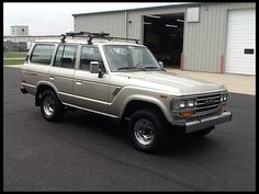 SOLD SOLD SOLD $9,250 1988 #Toyota Land Cruiser  4.0L, Automatic at #Mecum #Indy Auction
