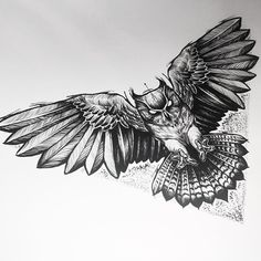 - No photo description. Owl Tattoo Chest, Mens Owl Tattoo, Chest Piece Tattoos, Pieces Tattoo, Leg Tattoos, Body Art Tattoos, Tattoos For Guys, Sleeve Tattoos, Owl Tattoo Drawings