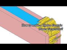 How to build a Hydro Electric Power Generator | Science Project - YouTube