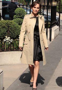 Natalie Portman French chic