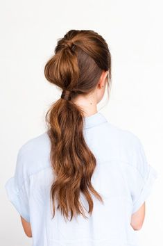 14 Casual Cool Hair Tutorials to Keep You Rolling Through the Long Labor Day Weekend #hairtutorial #updo