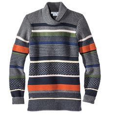 Cozy patterned knits for the cold: LACOSTE, $225; lacoste.com #InStyle