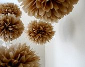 got that! check out the new window display at Etain Bridal Boutique, featuring these perfect poms