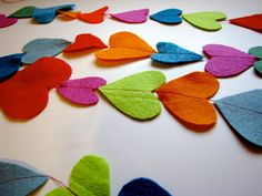 DIY Easy Heart Garland