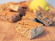 Lemon Chia Seed Protein Bars 3 | 2CookinMamas