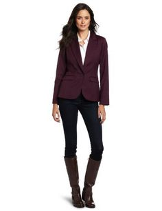 Pendleton Women's Encore Blazer Pendleton. $119.00. 26 inch length. Made in Philippines. 50% wool/47% polyester/3% lycra spandex. Dry Clean Only. Superlight 8-oz. Wool blend with a touch of stretch is cool and comfortable at the office or on the road. Wool, polyester, lycra® spandex.. Fully lined
