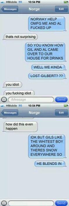 Ya lost gilbert